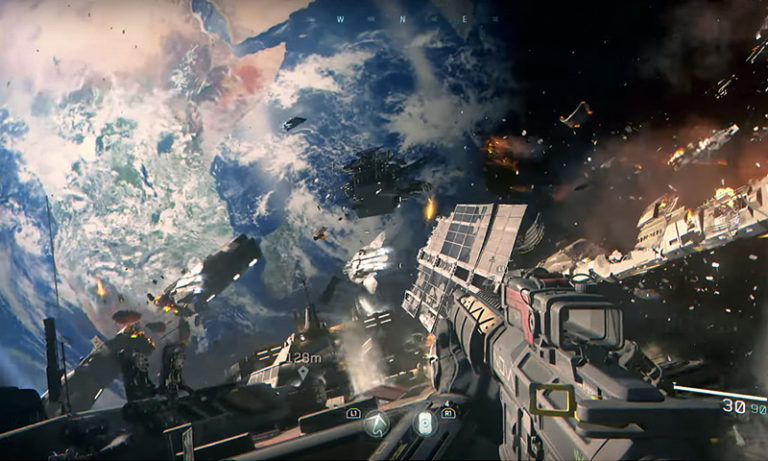 Call of Duty Infinite Warfare настройка графики для хорошей картинки