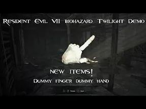 Зачем нужен рука и палец куклы в Resident Evil 7 Biohazard