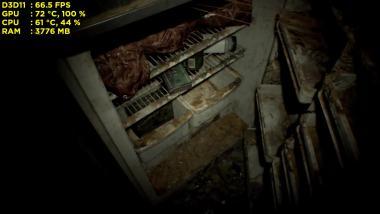 Вылетает Resident Evil 7 Biohazard, в подвале, в начале игры