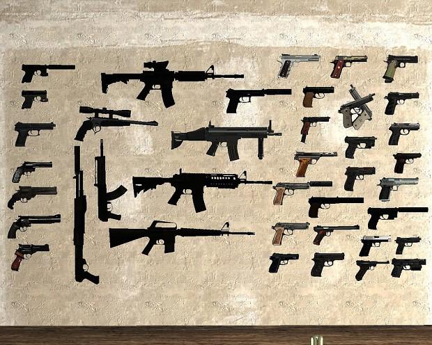 Скачать Аддоны На Гаррис Мод 13 На Оружие Из Майнкрафт - фото 8