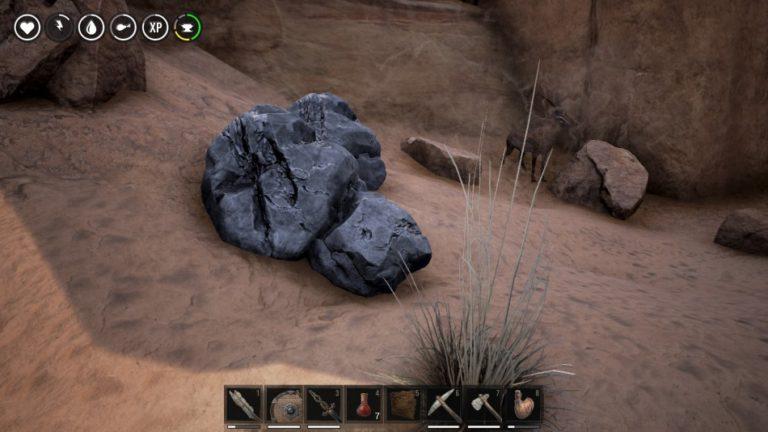 Где найти железную руду в Conan Exiles, как добыть и сделать слитки