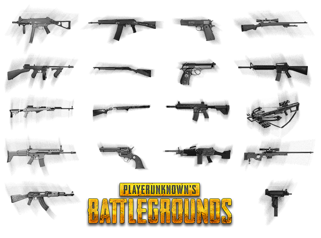 Playerunknown S Battlegrounds Png Images Free Download: Гайд по оружию в PlayerUnknown's Battlegrounds