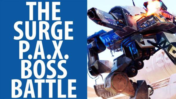 Как победить первого босса P.A.X в The Surge (PAX)