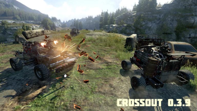 Гайд по игре Crossout (Управление, фракции, рынок и т.д.)
