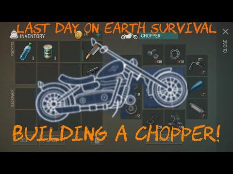 Как собрать Чоппер в Last Day on Earth: Survival
