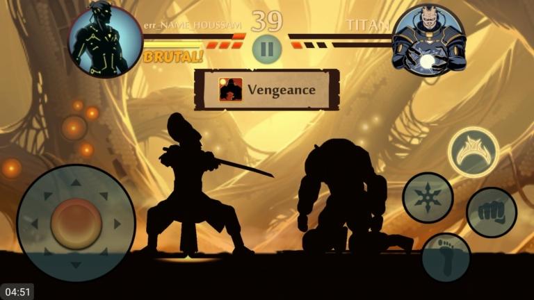 Как победить Титана в Shadow Fight 2
