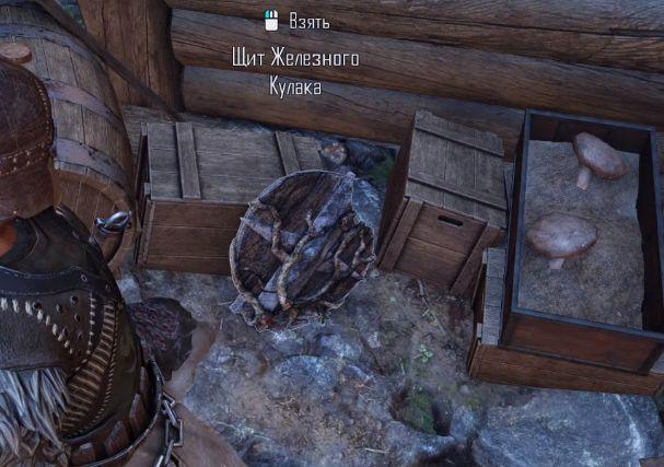 Где найти щит железного кулака в ELEX