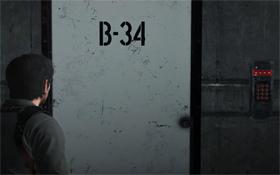 Код от двери B-34 в The Evil Within 2