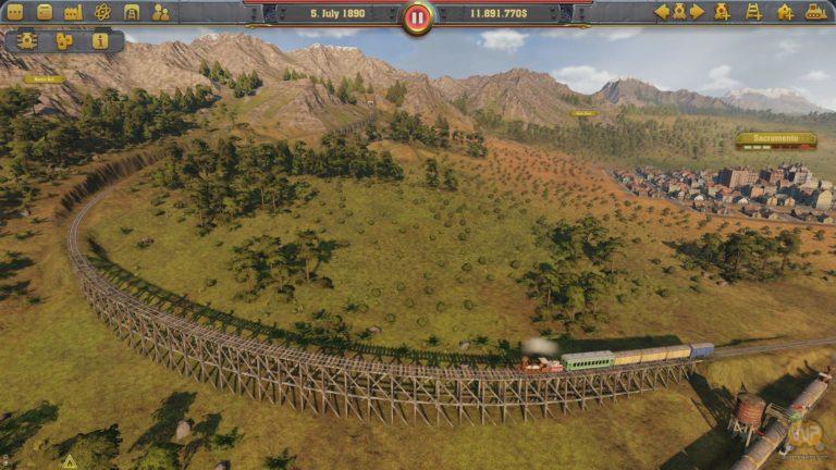 Railway Empire – новый железнодорожный симулятор