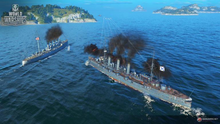 Лучшие крейсера в World of Warships