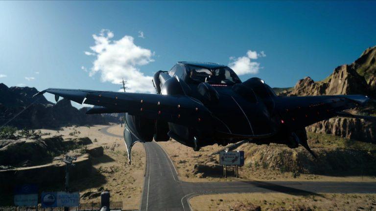 Как сделать регалию летающей в Final Fantasy XV