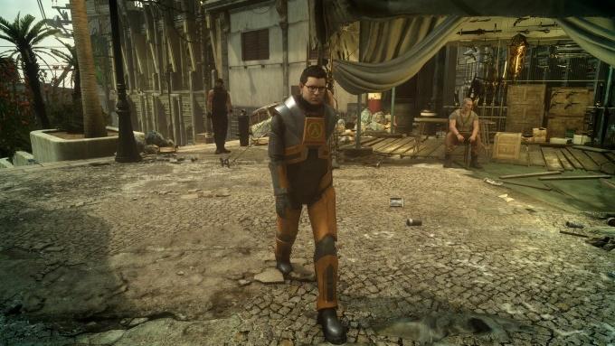 Как получить костюм Гордона Фримена в Final Fantasy XV