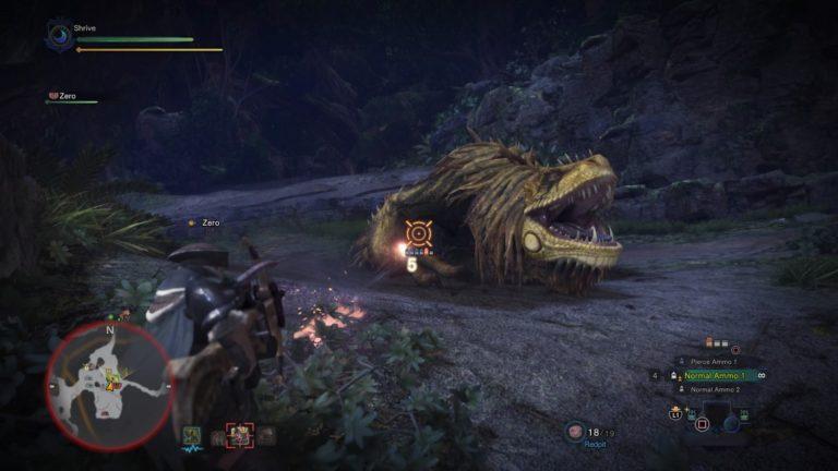 Как ловить монстров в Monster Hunter: World