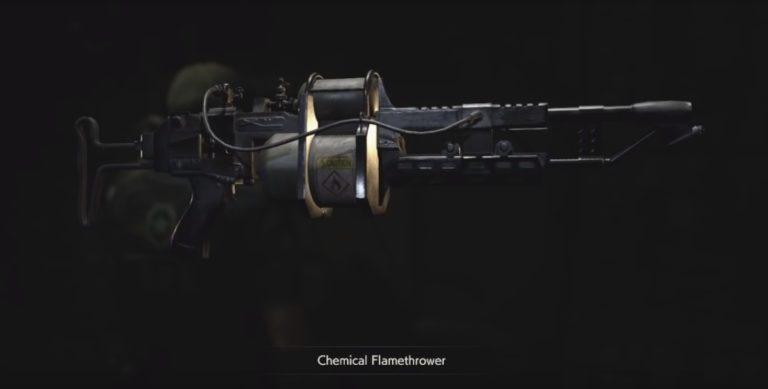 Где найти огнемет в Resident Evil 2 Remake