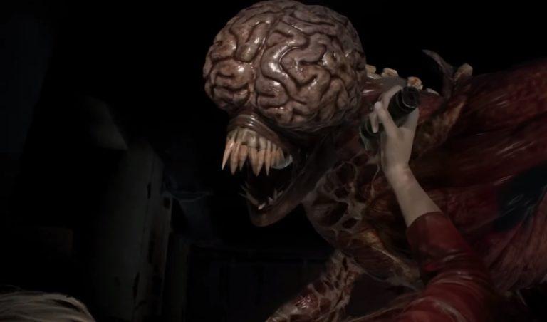 Как убить Лизуна в Resident Evil 2 Remake