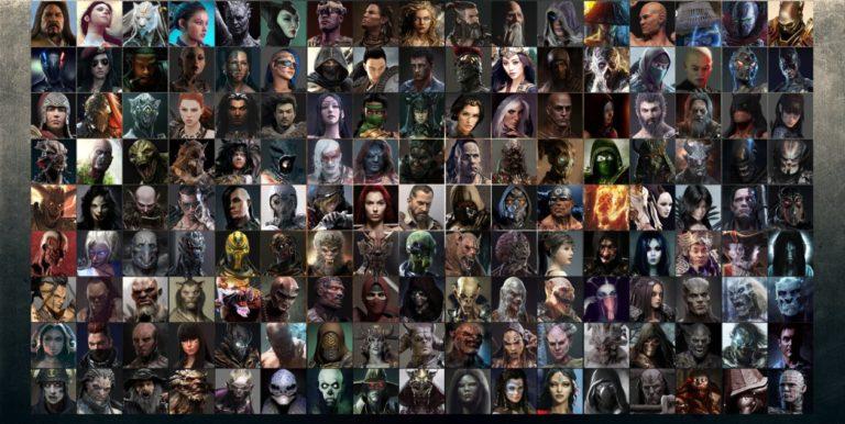Список всех персонажей в Mortal Kombat 11