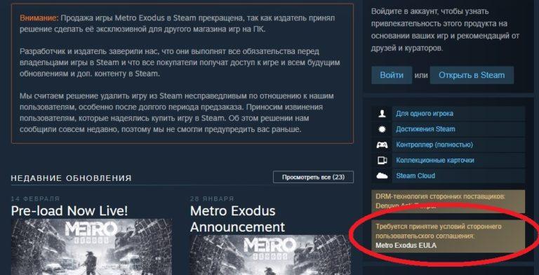 Когда взломают Metro Exodus?