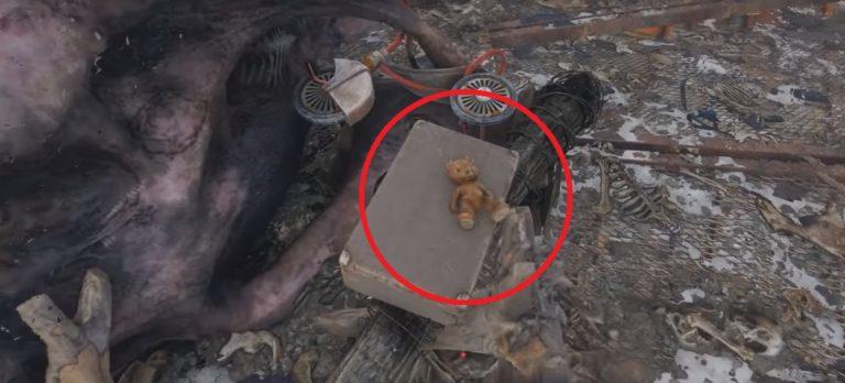 Где найти плюшевого мишку в Metro Exodus