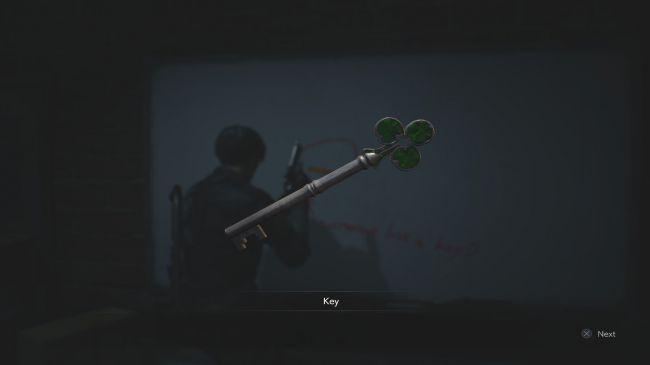 Где найти зеленый ключ (трефы) в Resident Evil 2 Remake