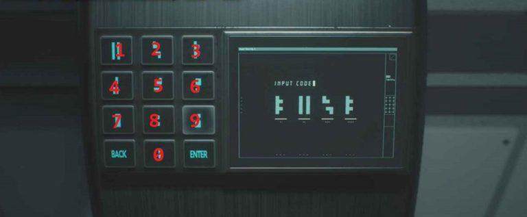 Какой код от лаборатории в Resident Evil 2 Remake