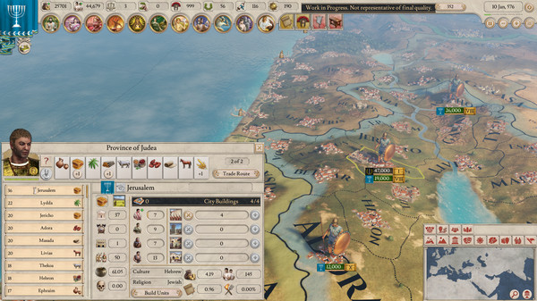 Дата выхода и системные требования Imperator: Rome