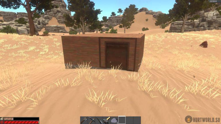 Как сделать дверь в Hurtworld