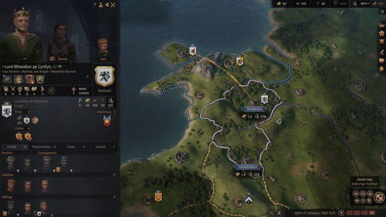 Чит коды для Crusader Kings 3